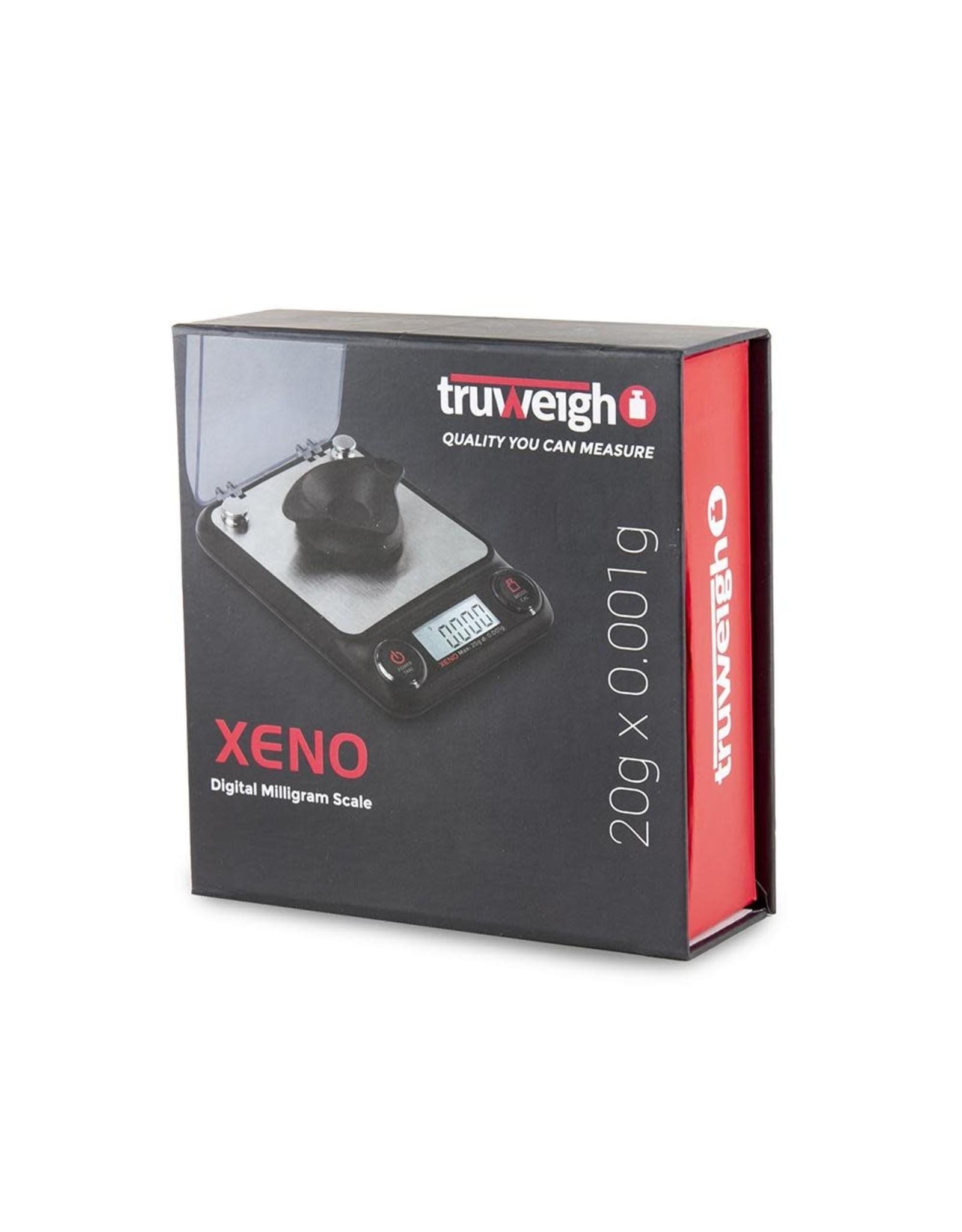 truweigh Truweight Xeno milligram scale 20gx .001g