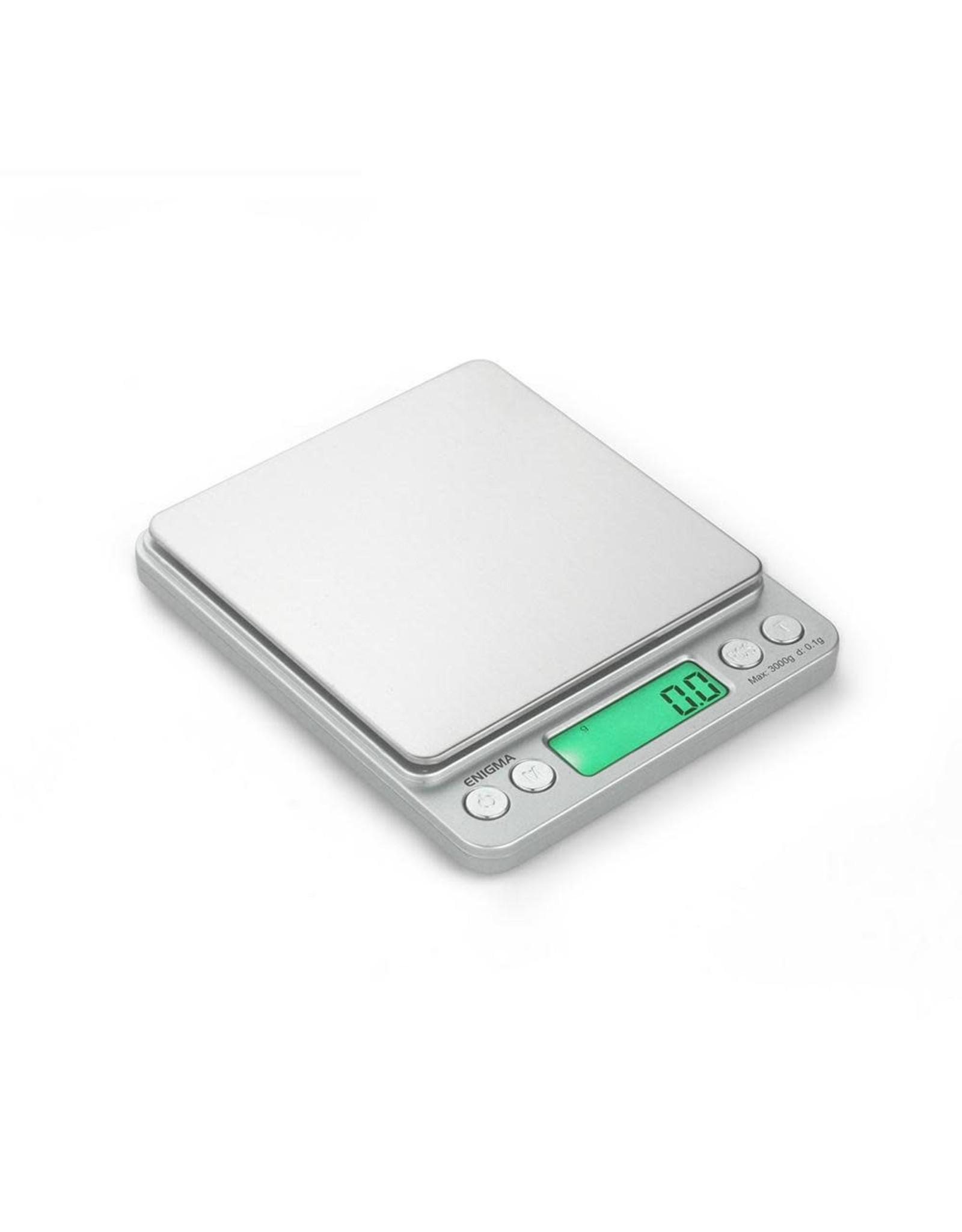 truweigh Truweigh Enigma Digital Mini Scale - 3000g x 0.1g / Silver
