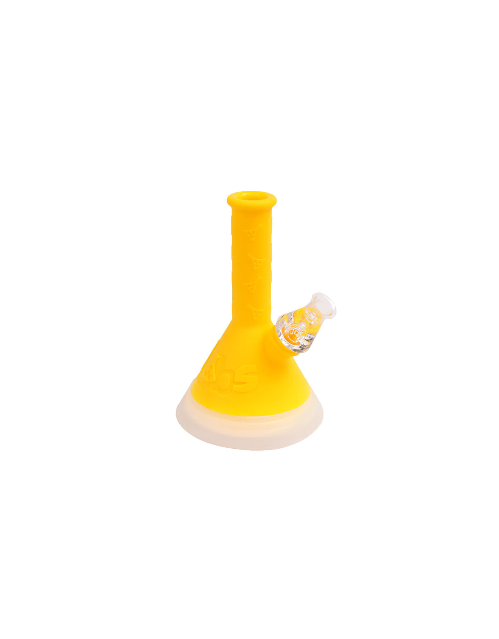 Twisted Labs Twisted Labs Water Pipe Beaker Led Mini Yellow