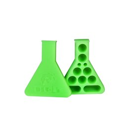 Twisted Labs Twisted Labs Silicon Beaker Storage Container Green Glow