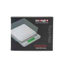 truweigh Truweigh Enigma Digital Mini Scale - 500g x 0.01g / Silver
