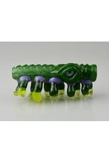 salt glass Salt Glass Green/Purp/Lucy UV Horns Chillum