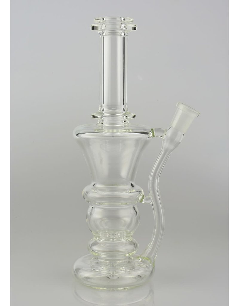 Philpot Philpot Med Clear Stemless Hourglass With 3 Hole Perc