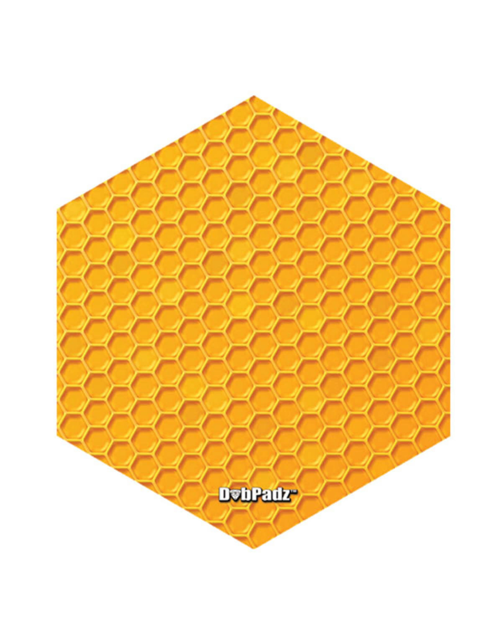 "DabPadz DabPadz Round Fabric Top - 8"" / Honeycomb Hex"