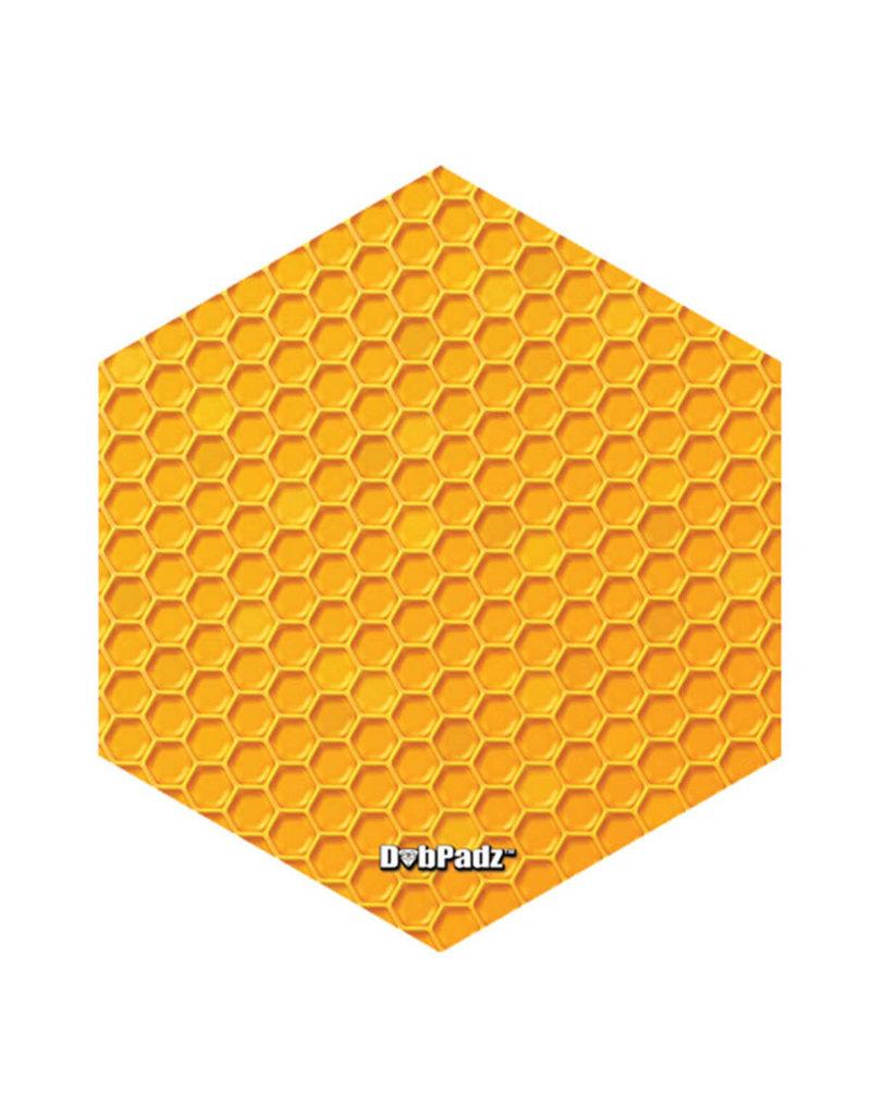 """DabPadz DabPadz Round Fabric Top - 8"""" / Honeycomb Hex"""