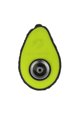 Avocado Silicone Hand Pipe - 4.75""