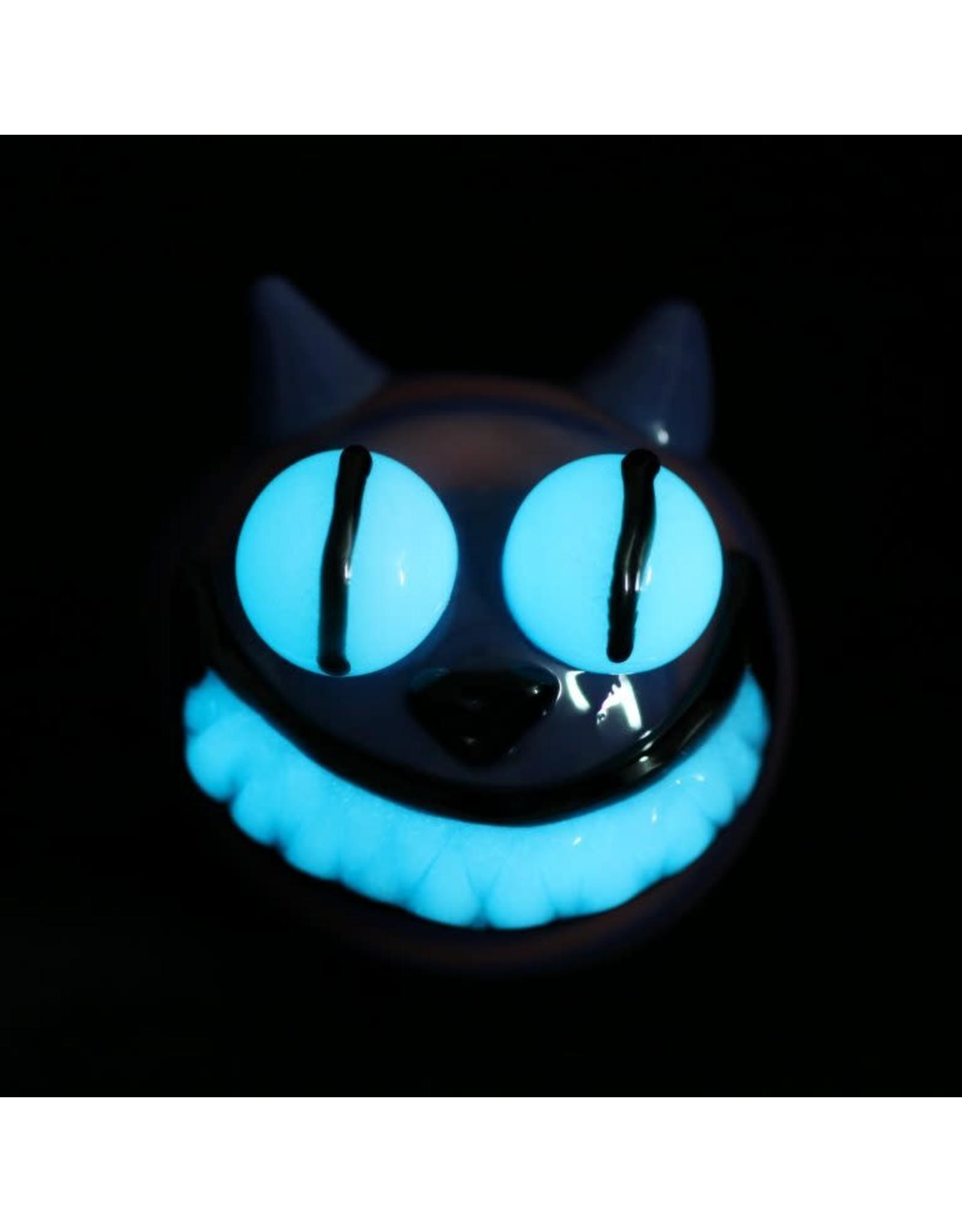 Chameleon Glass Cheshire Cat Glow Pipe