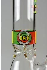 Illadelph 2nd Quality Rasta Label 5mm Short Beaker