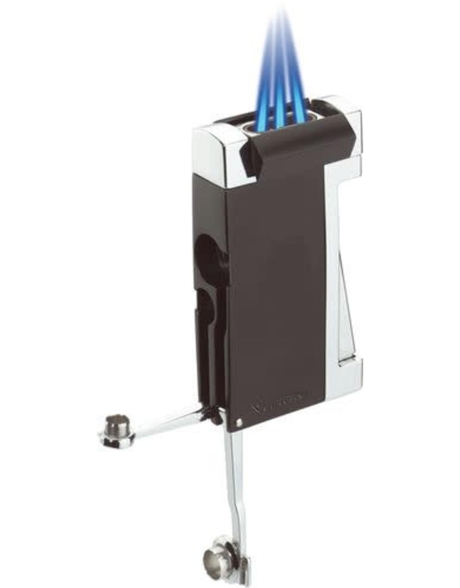 Vector Vector Torch Lighter Commando Black/Chrome
