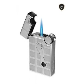 Vector Vector Torch Lighter Elite Chrome Satin 2-Tone