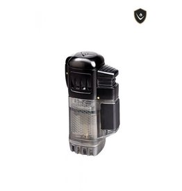 Vector Vector Torch Lighter QuadTank Black