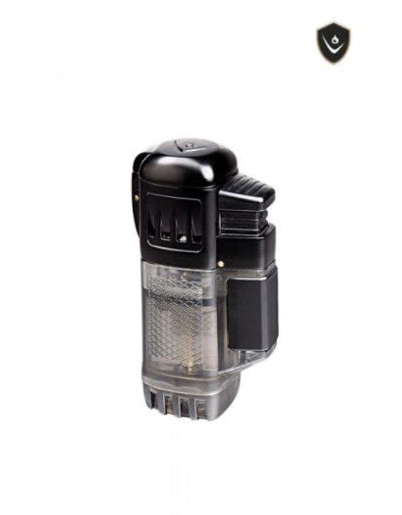 Vector Vector Torch Lighter QuadTank Black
