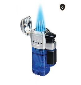 Vector Vector Torch Lighter QuadTank Blue Transparent