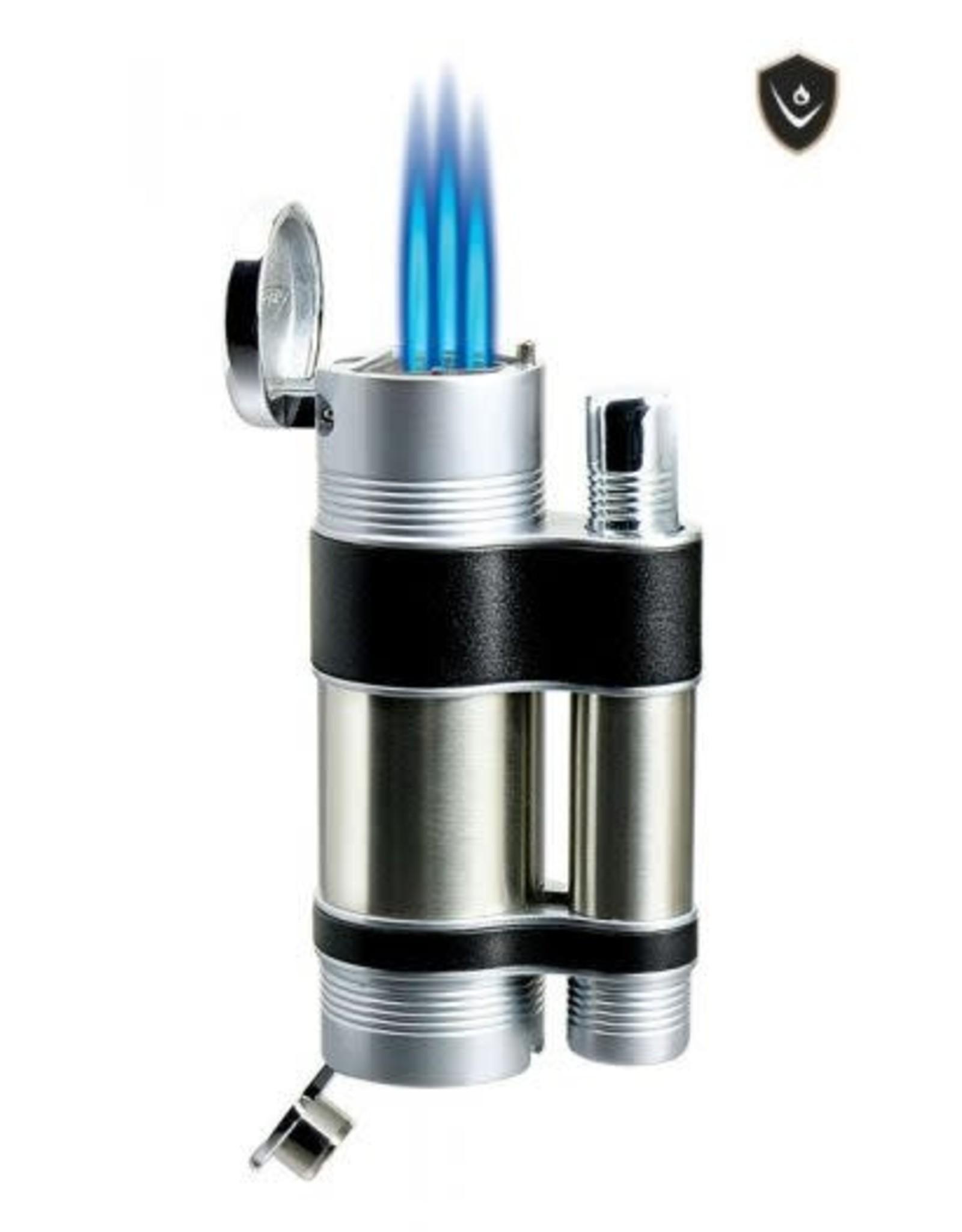 Vector Vector Torch Lighter Cannon Chrome Satin