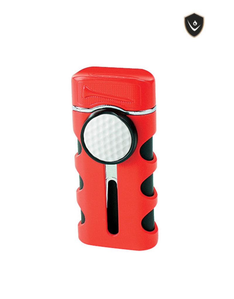 Vector Vector Torch Lighter Caddie Red Matte