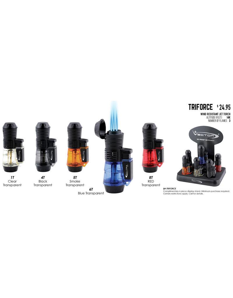 Vector Vector Torch Lighter Triforce Black