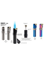 Vector Vector Torch Lighter Robusto Gunmetal Satin