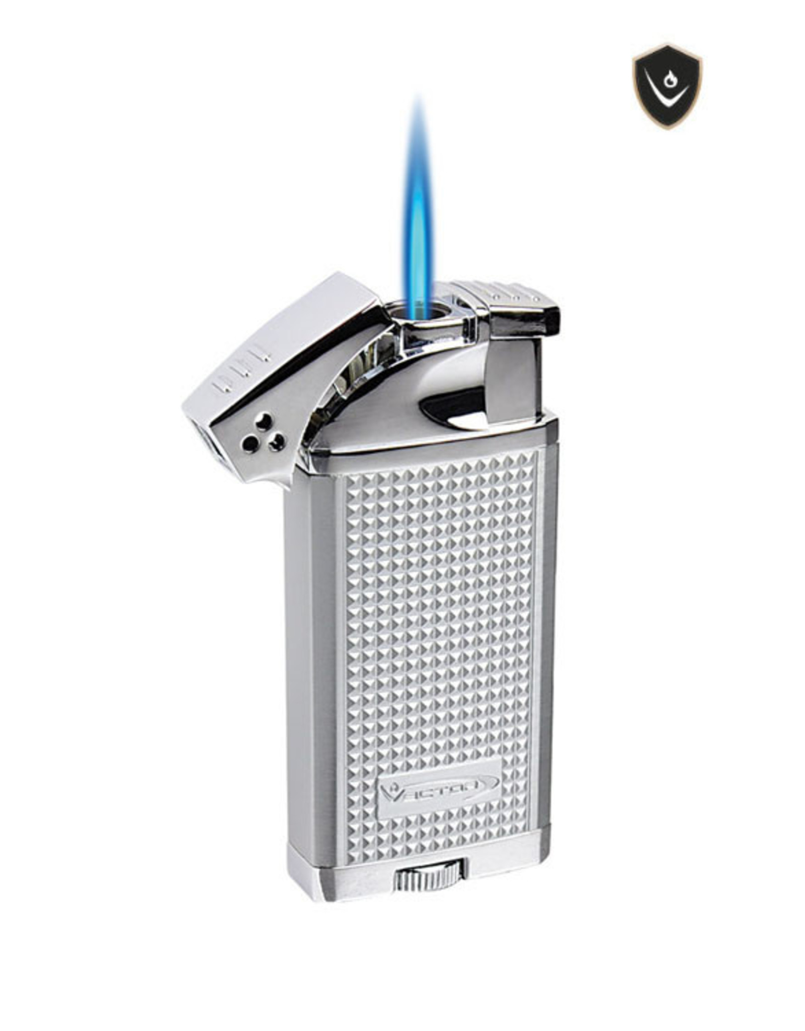 Vector Vector Torch Lighter Duke Chrome Satin