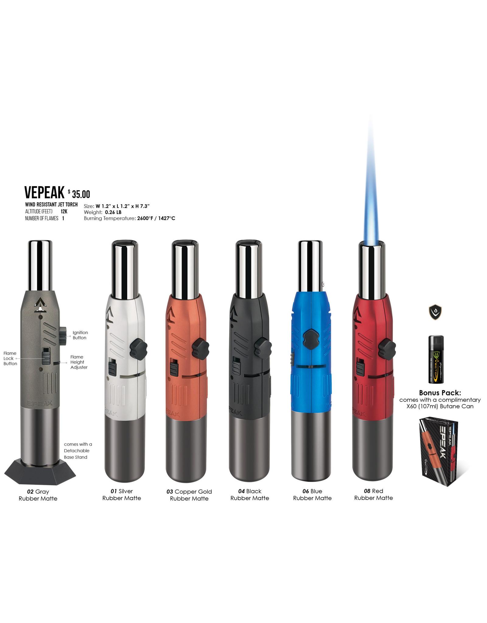Vector Vector Torch Lighter EPEAK Black
