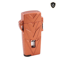 Vector Vector Torch Lighter Retro Copper Rose Matte
