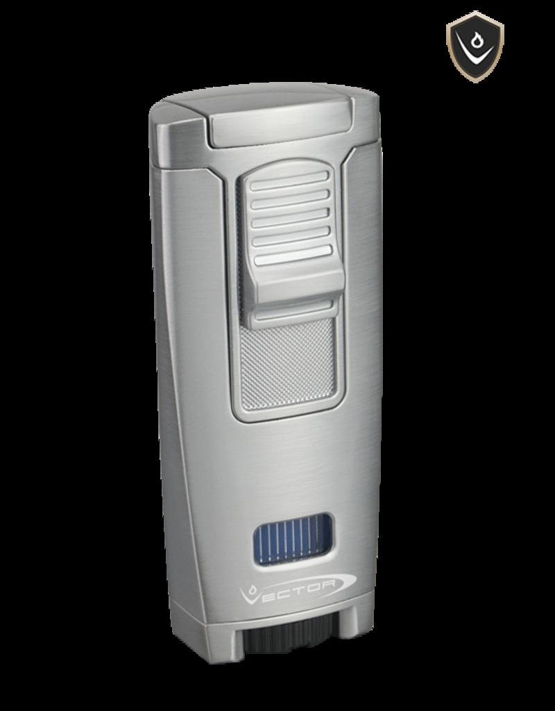 Vector Vector Torch Lighter Apex Chrome Satin