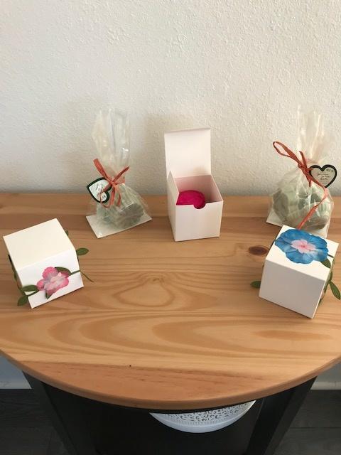 Jasmine Garden- Floral Gift Box