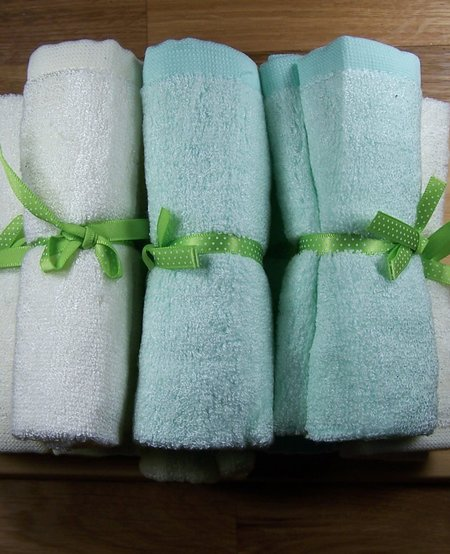 Bamboo Face Washcloths