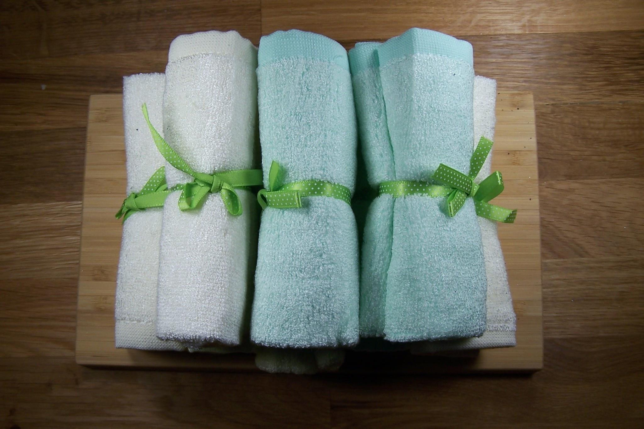 Bamboo Face Washcloths