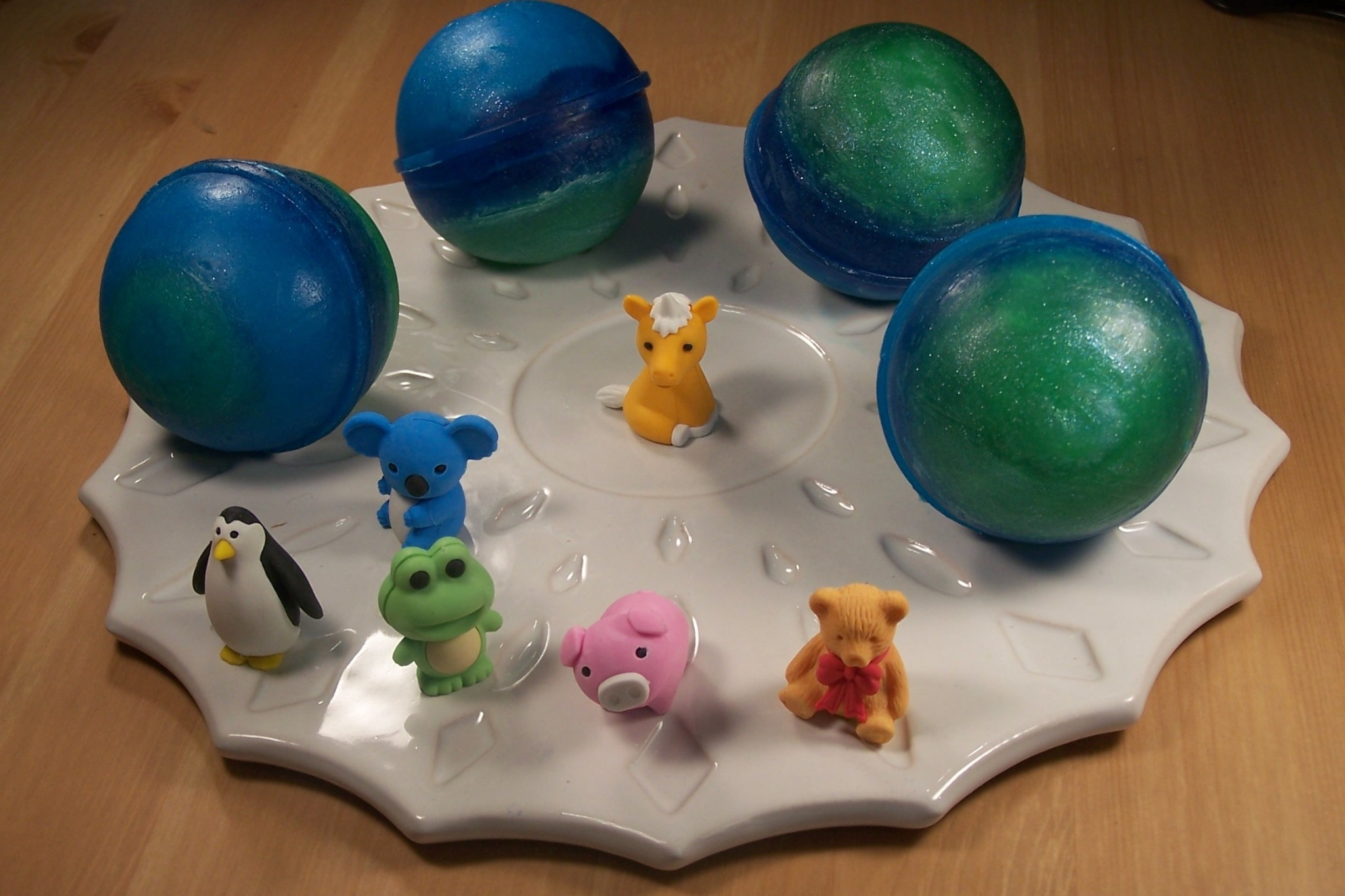 Planet Surprise Soap with toy inside