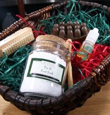Gift Foot Spa Basket: Fix it! Massager Bar & Fix it! Foot Soak & Nail Brush