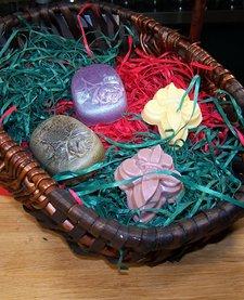 Gift Basket: Medium Guest Soaps