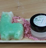 Gift Basket: Novelty soap & cream