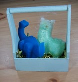 Gift Basket: Novelty Soaps: 2 soap bars