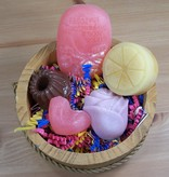 Guest Soap Basket: 5 soap bars