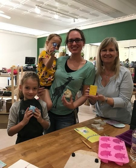 Make & Take Workshop: Soap, Fizzy Bath Salts & Lip Balm