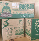UNNI compostable trash bags 4 gal