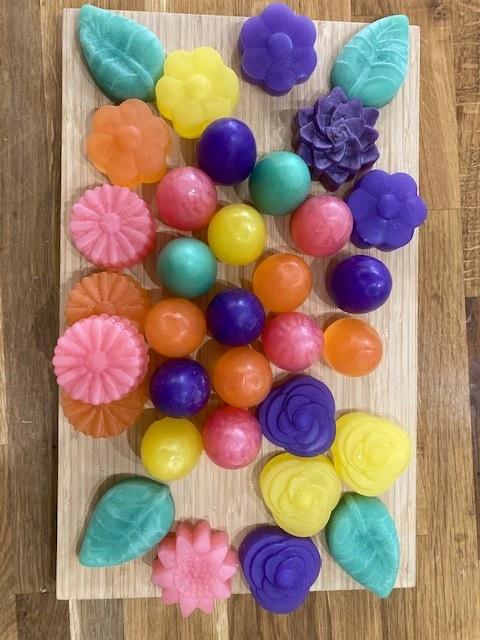 Easter Flower Soaps