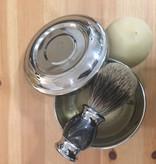 Shaving Soap Kit: Bowl & Brush with 2 soaps