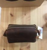 Small Leather Dopp Kit