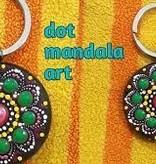 Summer Make & Take- Mandala Keychain