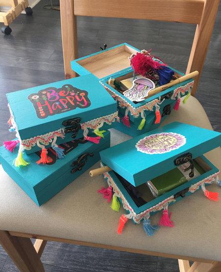 Summer Make & Take Workshops: Keepsake Box