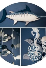 Home Marlin Body Wall Decor
