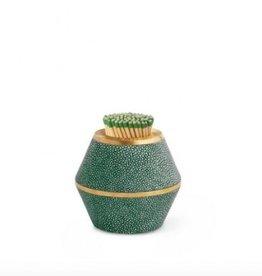Aerin Emerald Classic Shagreen Cone Match Striker