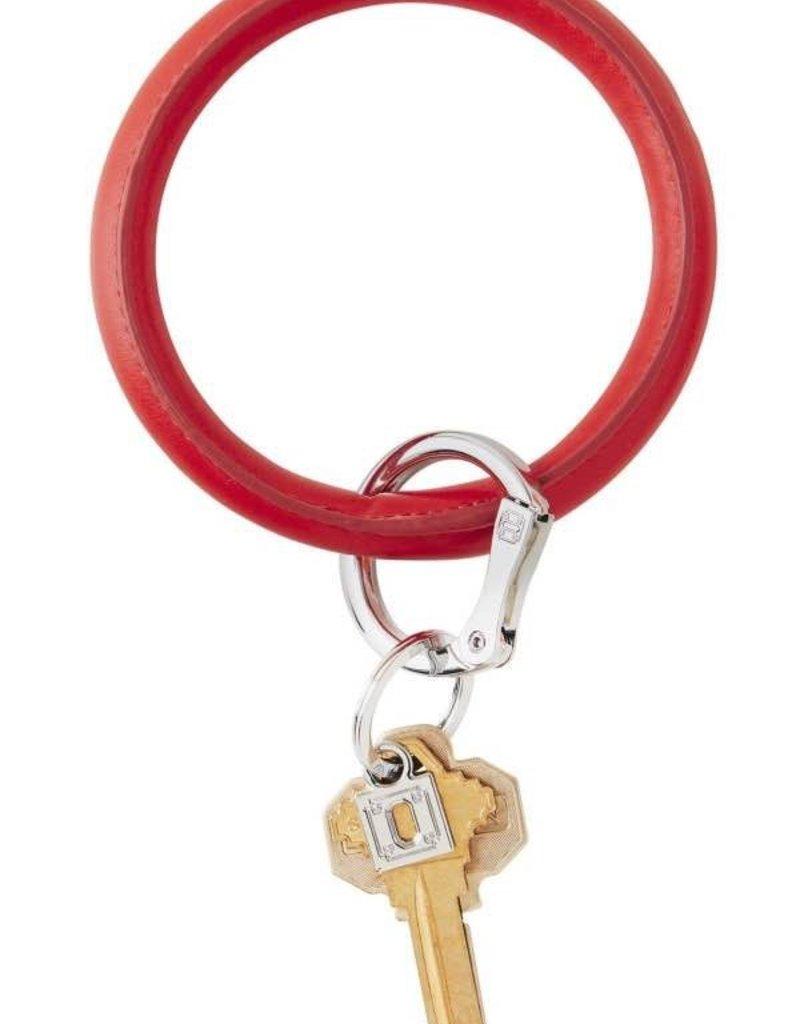 O Venture O Key Ring - Leather