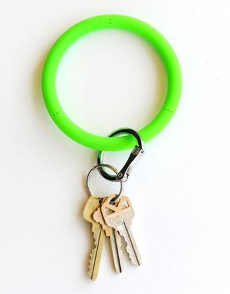 O Venture Big O Key Rings - Silicone