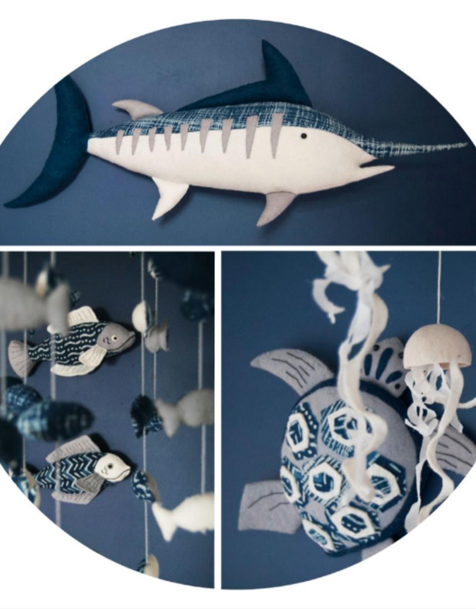 Home Marlin Body Wall Decor