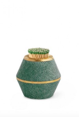 Aerin Emerald Classic Shagreen Cone Match Striker