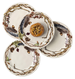 Home Forest Walk Party Plates Set of 4