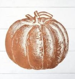 Home Pumpkin Placemats - 12 Sheets