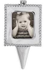 Mariposa Beaded Photo Candle Holder